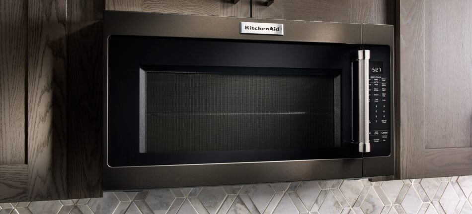 Microwave Sizes Kitchenaid, What Size Cabinet For Under Microwave