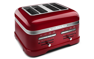 Candy Apple Red Pro Line 174 Series 4 Slice Automatic Toaster