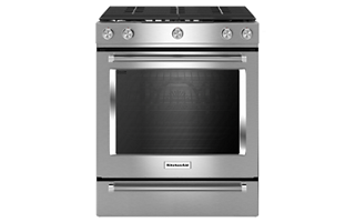 Superb 5.8 Cu Ft. Oven Capacity. 5.8 Cu Ft. Oven Capacity. This Gas Slide In Range  ...