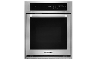 Stainless Steel 24 Quot Double Wall Oven With True Convection