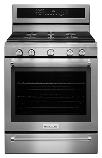 Perfect 30 Inch 5 Burner Gas Convection Range With U2026