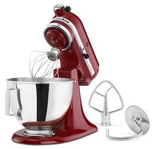 NEW Stand Mixer Cover for All KitchenAid Mixers Fits All Tilt Head Bowl RED