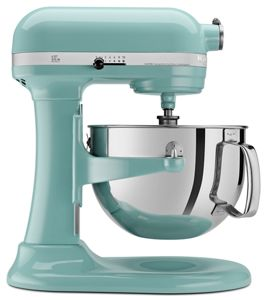 Bowl-lift stand mixers from KitchenAid.
